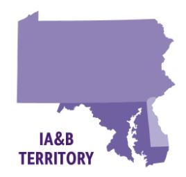 illustration of ia&b territories