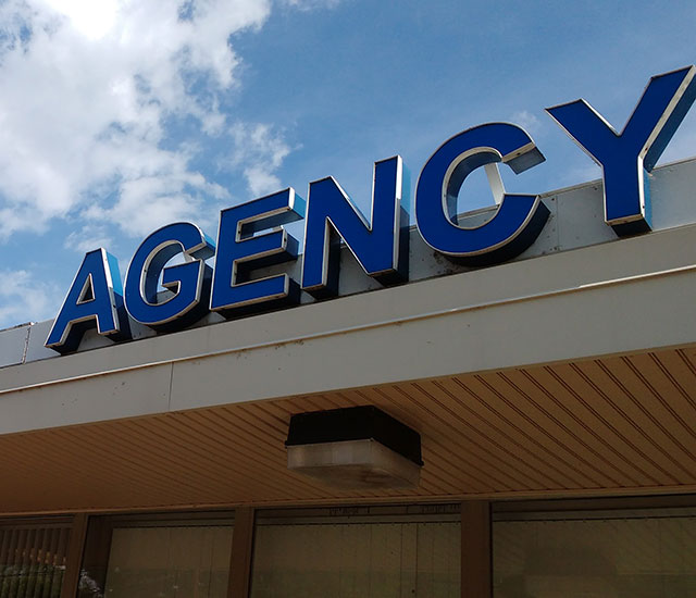 photo of an agency