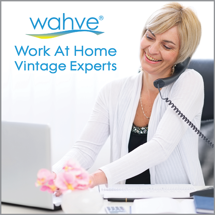 wahve image featuring woman on phone